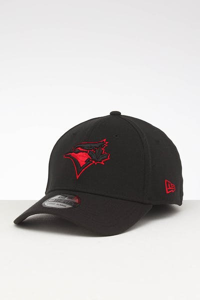 New Era Toronto Blue Jays 39THIRTY Stretch Fit Black