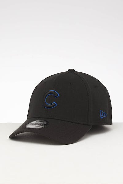 New Era Chicago Cubs 39THIRTY Stretch Fit Black