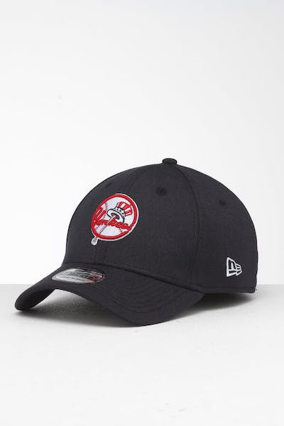 uk availability fe934 31fd2 New Era New York Yankees 39THIRTY Stretch Fit Navy ...
