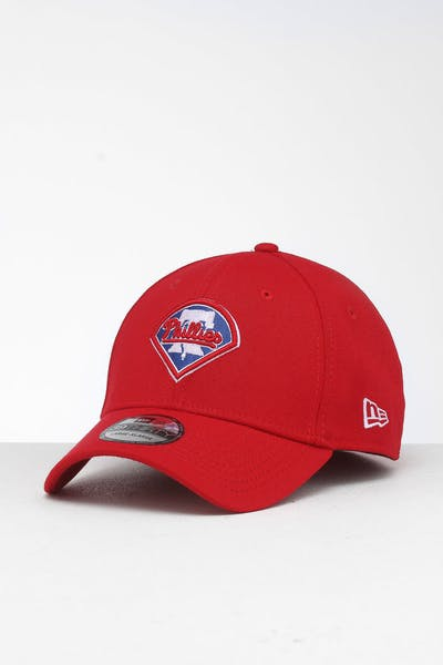 New Era Philadelphia Phillies 39THIRTY Stretch Fit Scarlet