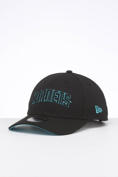 New Era Charlotte Hornets 9FORTY Snapback Black
