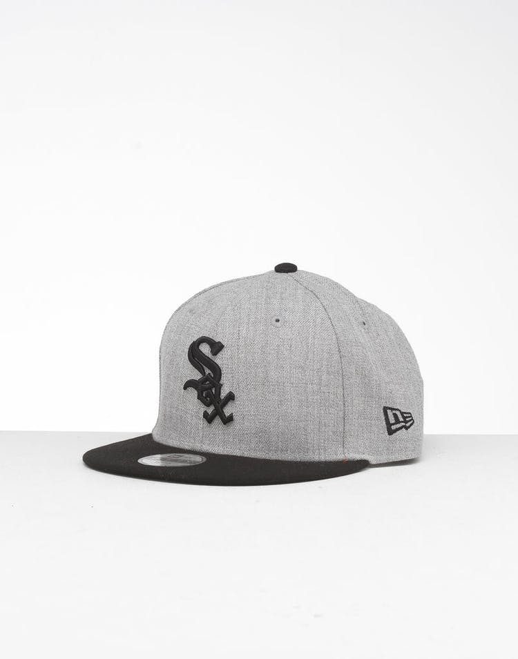 1d0601fc New Era Youth Chicago White Sox 9FIFTY Snapback Heather Grey/Black