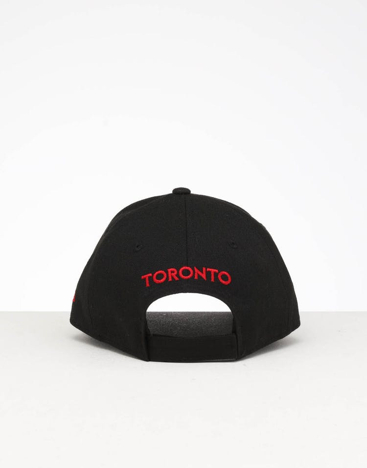 huge discount e54c5 58a17 New Era Youth Toronto Blue Jays 9FORTY Hook   Loop Black – Culture Kings