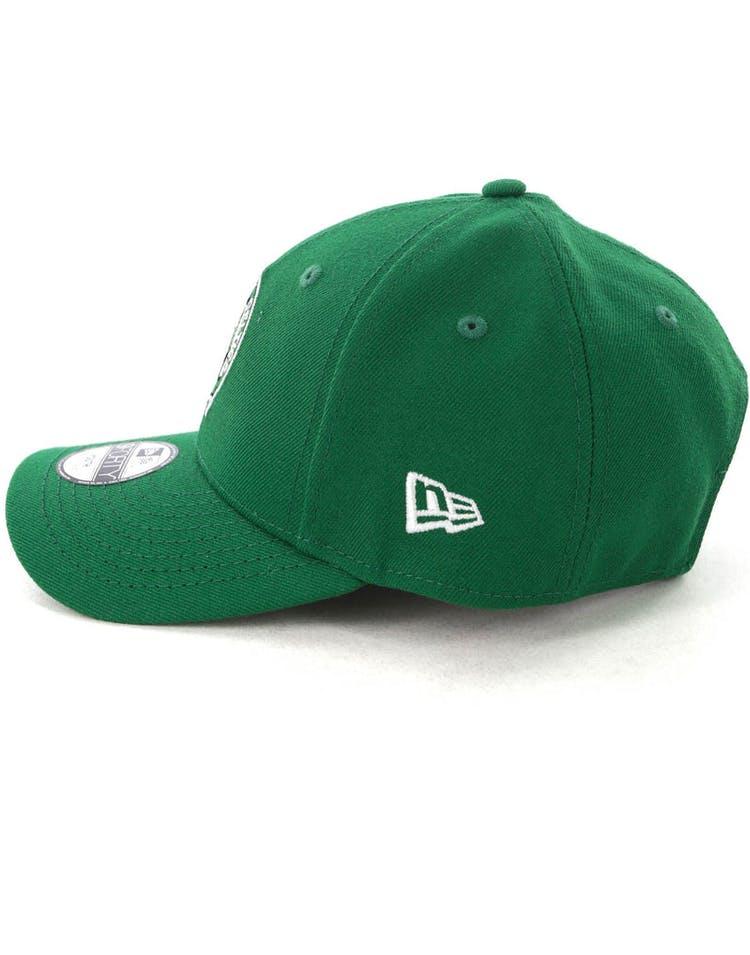 info for 318d5 48f63 New Era Youth Boston Celtics 9FORTY H L Strapback Kelly Green
