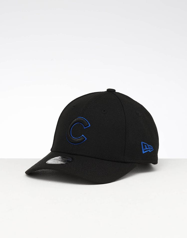 003b99f65c530e New Era Youth Chicago Cubs 9FORTY Hook & Loop Black – Culture Kings