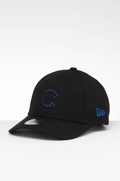 New Era Youth Chicago Cubs 9FORTY Hook & Loop Black