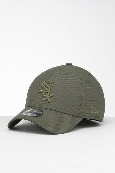 cheap for discount 47991 14a59 New Era Chicago White Sox 39THIRTY Stretch Fit Olive ...