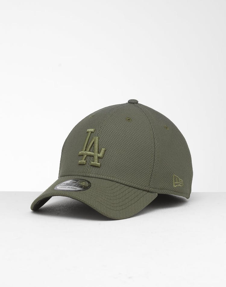 meet 74a1e 3e965 New Era Los Angeles Dodgers 39THIRTY Stretch Fit Olive – Culture Kings