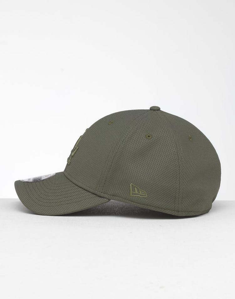 competitive price 6602c 59f6f New Era Los Angeles Dodgers 39THIRTY Stretch Fit Olive