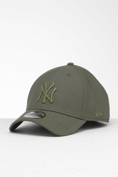 promo code a181b 62eeb New Era New York Yankees 39THIRTY Stretch Fit Olive ...