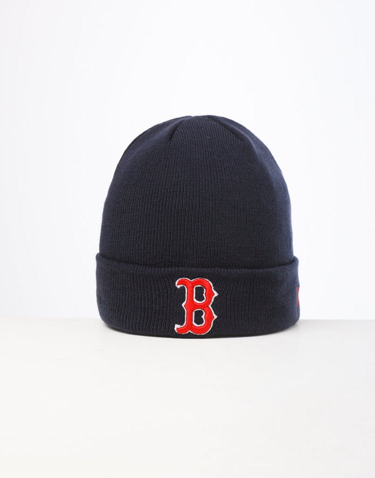 223b83bd1cfd00 New Era | Boston Red Sox 6Dart Knit Beanie Navy | Mens | Street Style –  Culture Kings