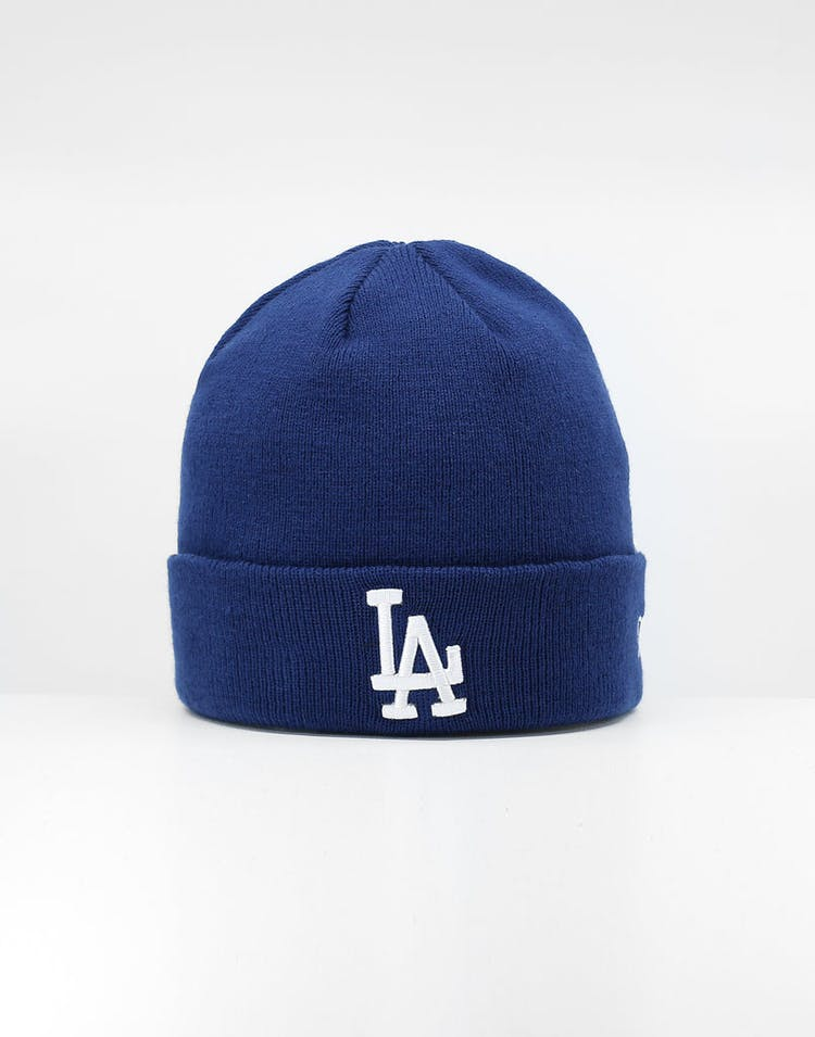 11039383e New Era Los Angeles Dodgers 6Dart Cuff Beanie Dark Royal