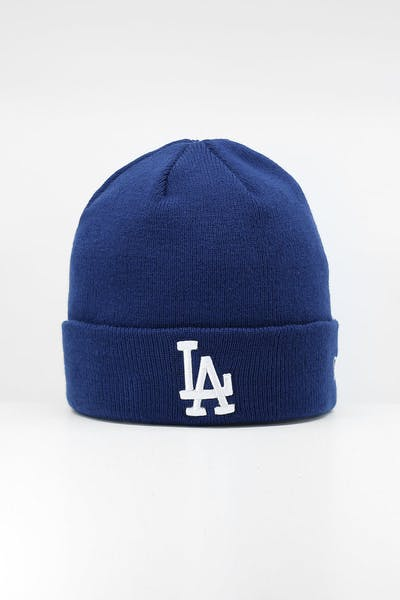 New Era Los Angeles Dodgers 6Dart Cuff Beanie Dark Royal