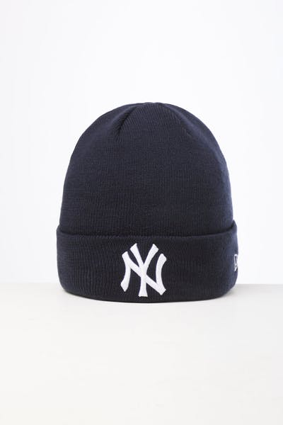 New Era New York Yankees 6Dart Knit Beanie Navy
