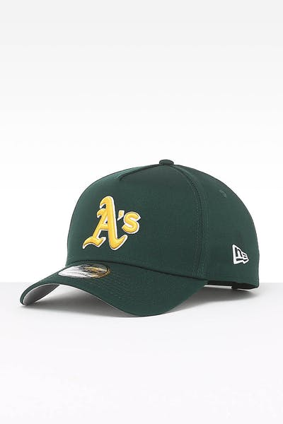 ec356dd2fb17c New Era Oakland Athletics 9FORTY A-Frame Team Snapback Dark Green