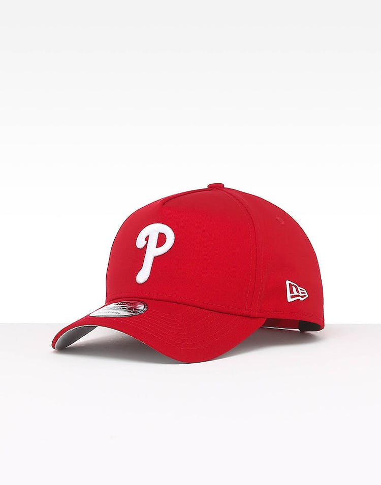 new style a4dc7 f9d80 New Era Philadelphia Phillies 9FORTY A-Frame Team Snapback Red – Culture  Kings