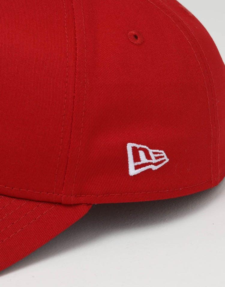 size 40 8b2bd adfb1 New Era Philadelphia Phillies 9FORTY A-Frame Team Snapback Red