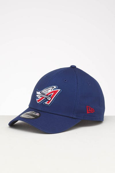 New Era Los Angeles Angels 9FORTY Retro Strapback Blue