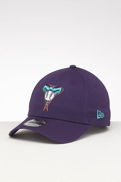 New Era Arizona Diamondbacks 9FORTY Retro Strapback Purple