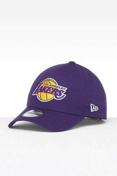 size 40 27905 bcc00 New Era Los Angeles Lakers 9FORTY Strapback Purple