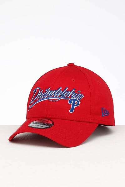 New Era Philadelphia Phillies 9FORTY Strapback Scarlet