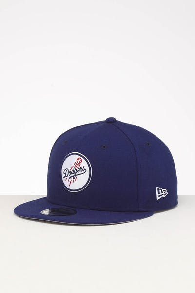 half off 5ca7e ca511 New Era Los Angeles Dodgers 9FIFTY Snapback Dark Royal