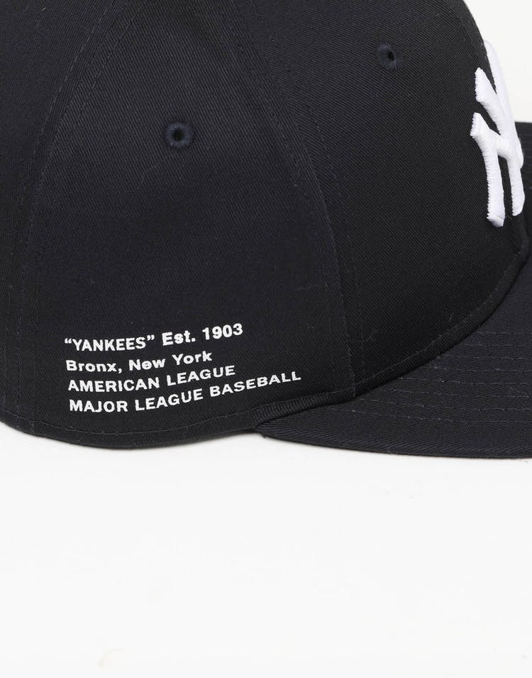 72181df7bf2ad New Era New York Yankees 9FIFTY Side Hit Snapback Navy – Culture Kings
