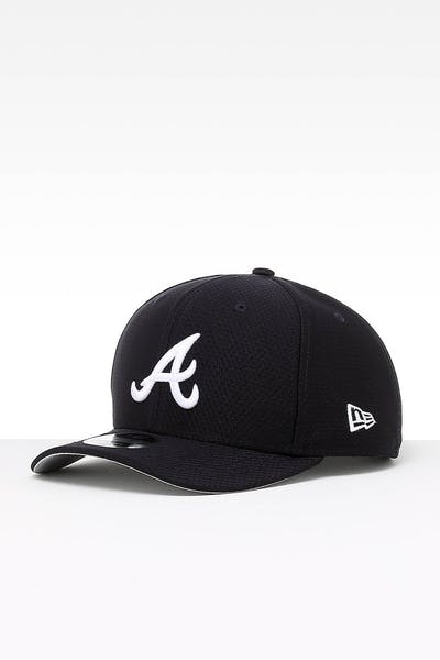 527e8d10c7299 New Era Atlanta Braves 9FIFTY PC Snapback Navy
