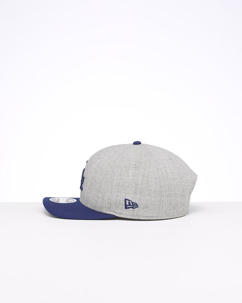 New Era Los Angeles Dodgers 9FIFTY Precurved Snapback Heather Grey/Blue