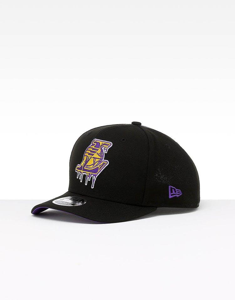 best loved 52eca 2e3d7 New Era Los Angeles Lakers 9FIFTY PC Snapback Black – Culture Kings