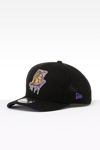 New Era Los Angeles Lakers 9FIFTY PC Snapback Black