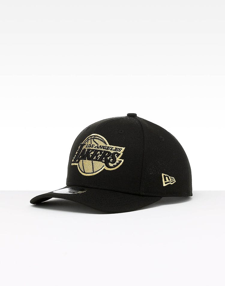 newest d7070 17b22 New Era Los Angeles Lakers 9FIFTY Original PC Snapback Black Gold – Culture  Kings