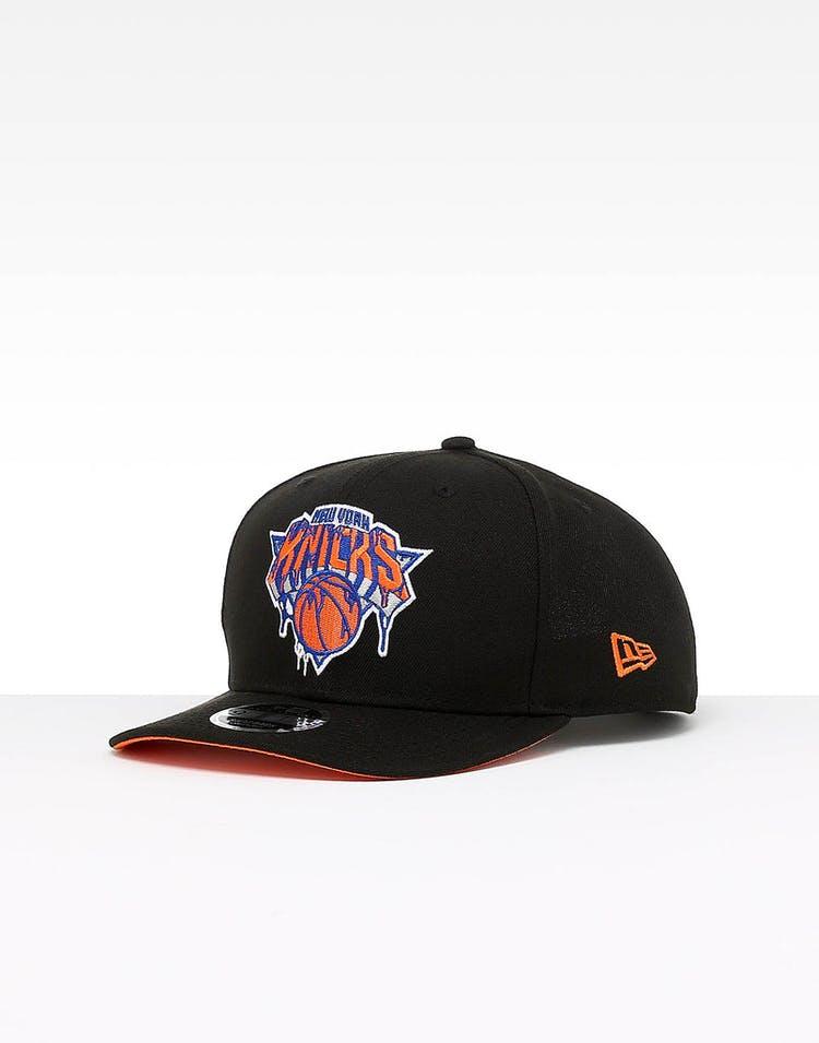 377ea9f3b922e New Era New York Knicks 9FIFTY PC Snapback Black – Culture Kings
