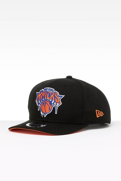 New Era New York Knicks 9FIFTY PC Snapback Black