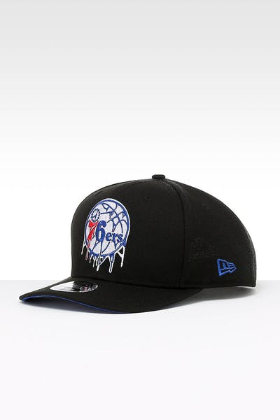 214d89569077a New Era Philadelphia 76ers 9FIFTY PC Snapback Black