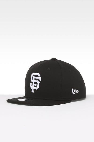 641c2c111c027 New Era San Francisco Giants 9FIFTY Side Hit Snapback Black
