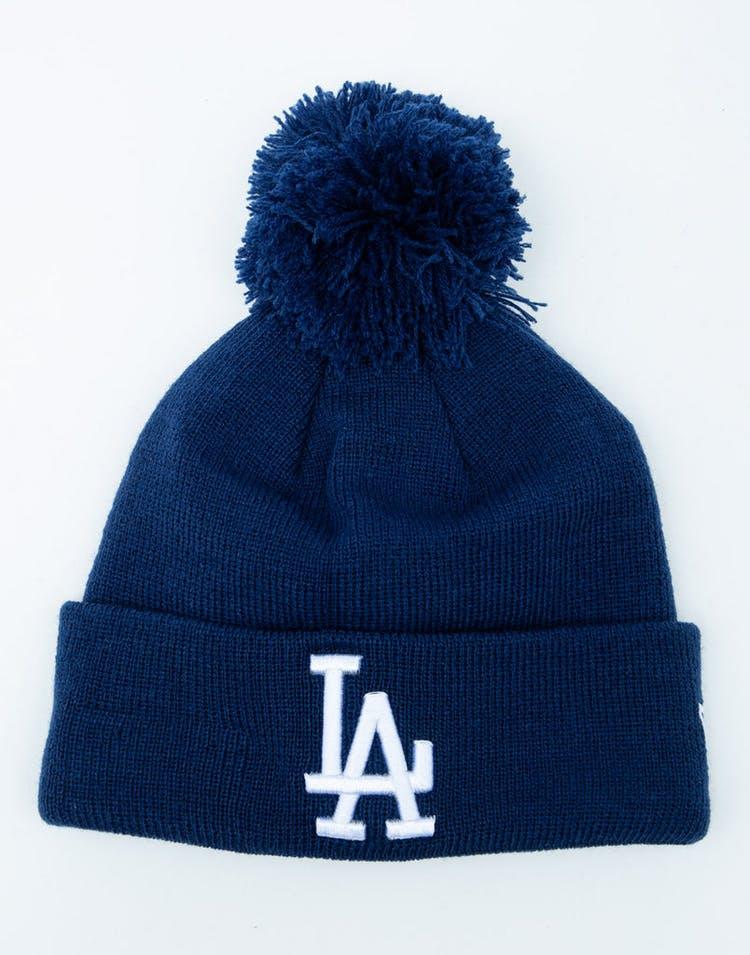 super popular 47ec1 113b7 New Era Youth Los Angeles Dodgers 6Dart Pom Knit Dark Royal – Culture Kings