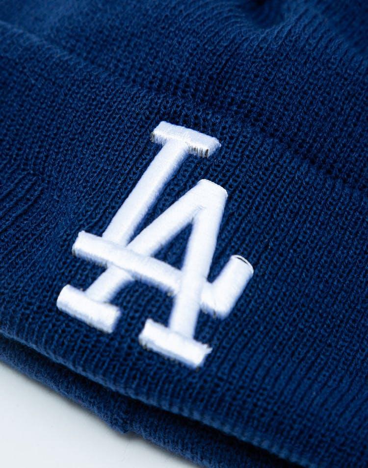 pretty nice 1faab 624ff New Era Youth Los Angeles Dodgers 6Dart Pom Knit Dark Royal