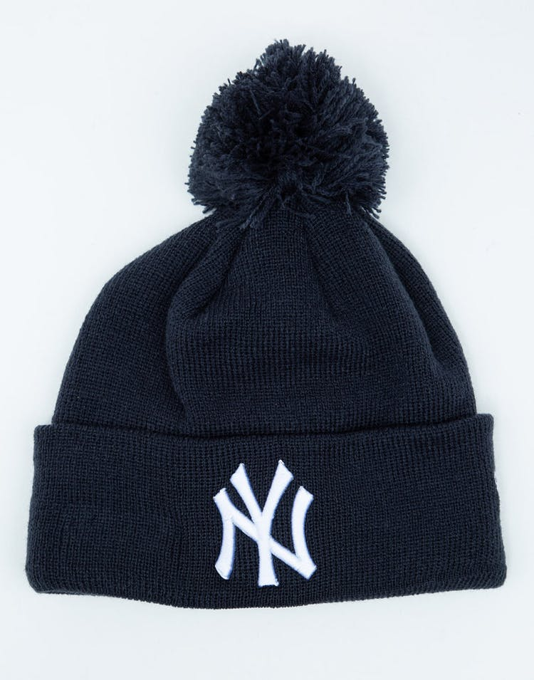 03990ba5e New Era Youth New York Yankees 6Dart Pom Knit Dark Navy – Culture Kings