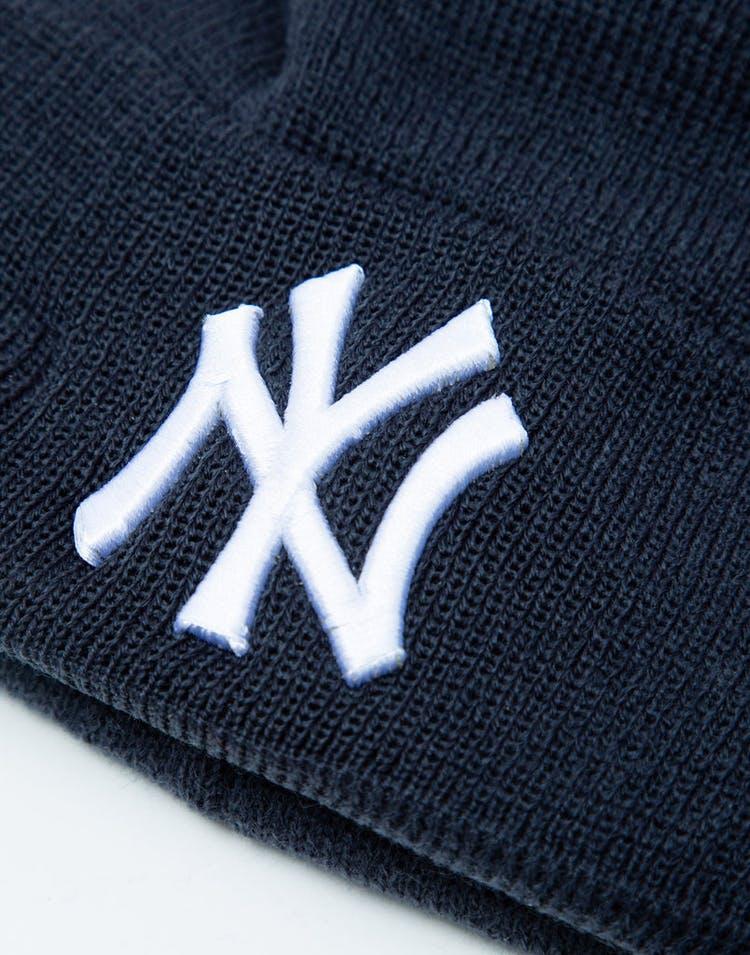 new concept 0771f 2086c New Era Youth New York Yankees 6Dart Pom Knit Dark Navy