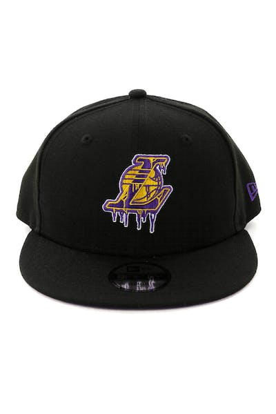 New Era Youth Los Angeles Lakers 9FIFTY Dribble Snapback Black