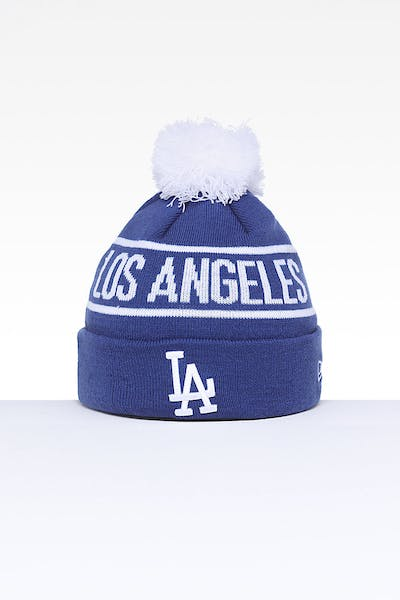 c8d07b67d10df New Era Los Angeles Dodgers 6Dart Pom Knit Royal White