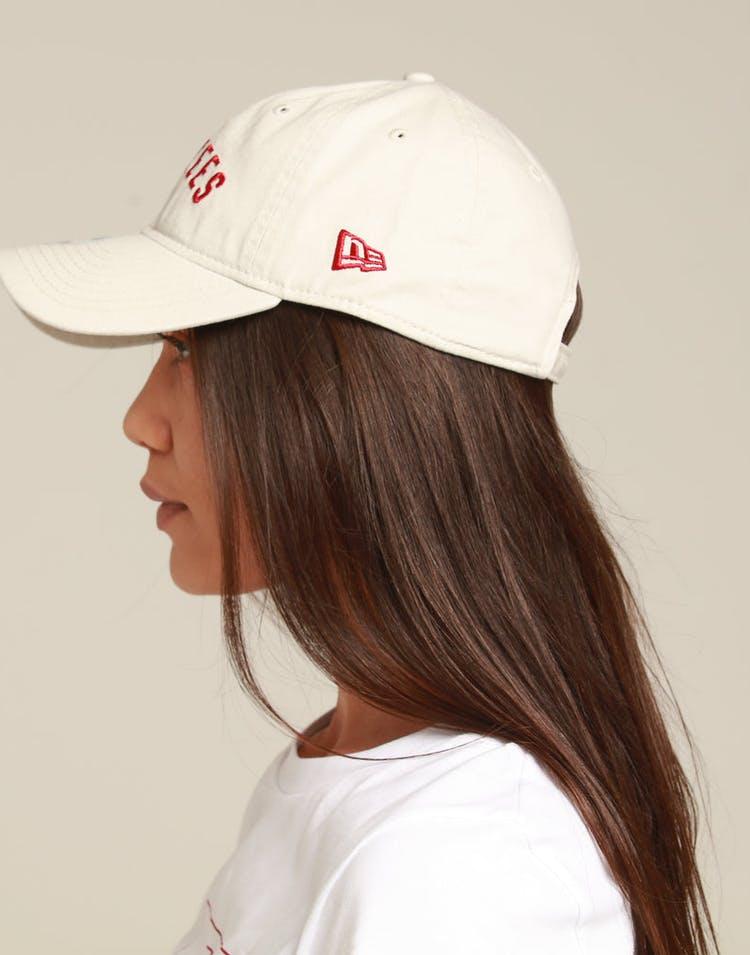 online store c7d1a 11992 New Era Women s New York Yankees 9TWENTY Strapback Stone Red