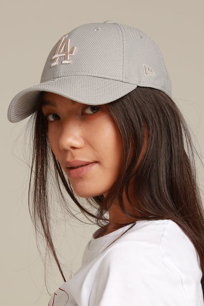 New Era Women's Los Angeles Dodgers 9FORTY Strapback Grey