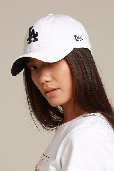6671449abe83f New Era Women s Los Angeles Dodgers 9TWENTY Strapback White Navy