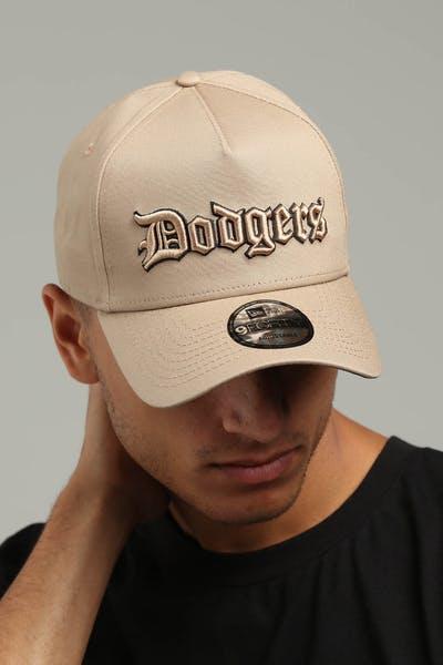 timeless design 890ee dc8f1 New Era Los Angeles Dodgers 9FORTY A-Frame Snapback Tan Black ...