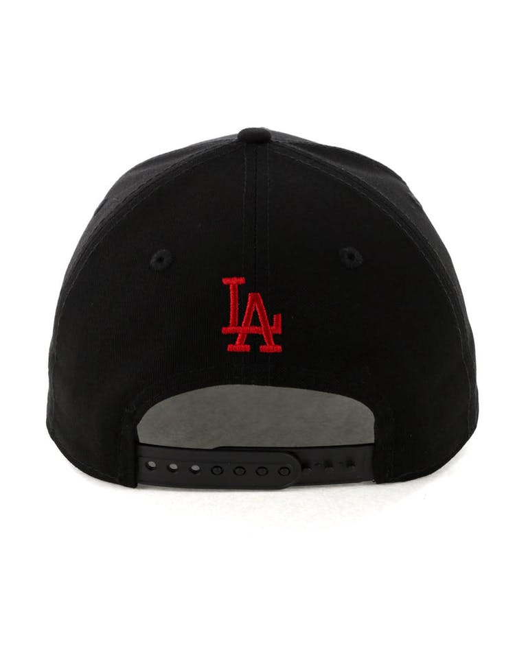 f932ac901fe New Era Los Angeles Dodgers 9FORTY A-Frame Snapback Black Scarlet ...