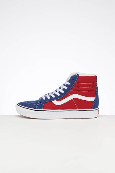 Vans UA Comfycush SK8-HI Reissue Chilli Pepper/True Blue