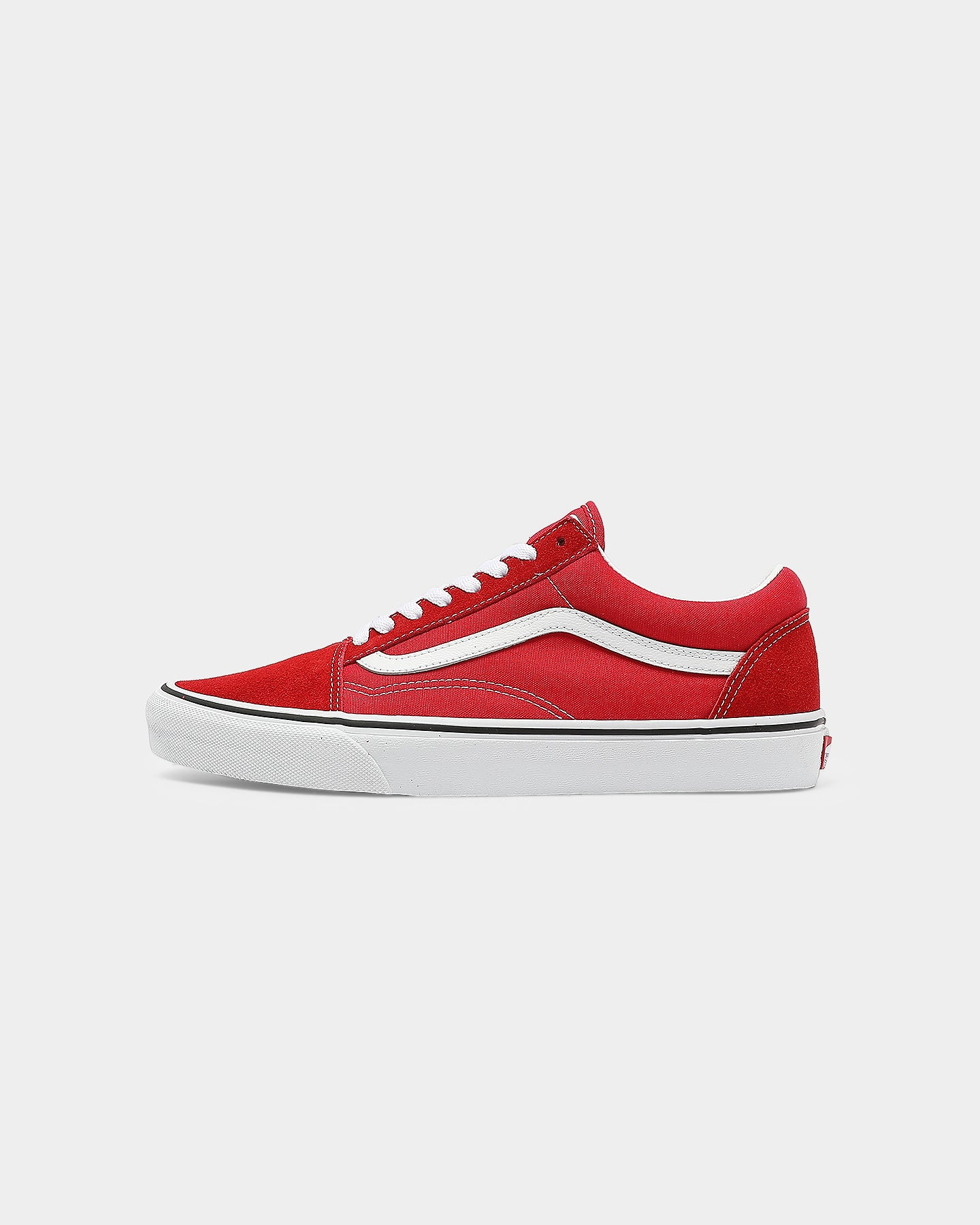 red velvet vans old skool