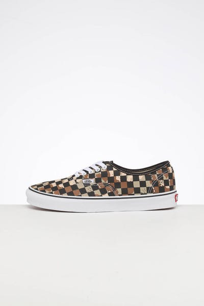 VANS AUTHENTIC (CHECKERBOARD) CAMO/WHITE